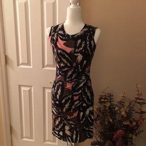 Nic + Zoe cinched waist dress